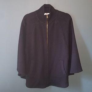 Big Buddha black cape jacket sz s/m